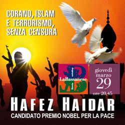 Corano, Islam e terrorismo senza censura. Con Hafez Haidar.