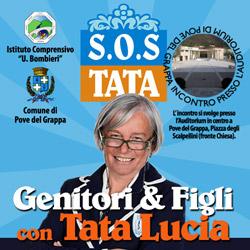 Tata Lucia incontro genitori e figli, senza censura.