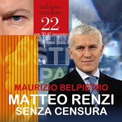 Maurizio Belpietro alla Bassanese. Renzi senza censura.