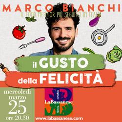 La cucina delle emozioni con Marco Bianchi in libreria La Bassanese.