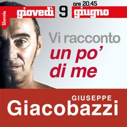 Giuseppe Giacobazzi, vi racconto un poì di me in libreria La Bassanese.