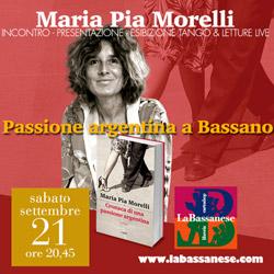 Passione argentina con Maria Pia Morelli in libreria.
