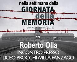 Per non dimenticare l`Olocausto un incontro esclusivo a Bassano del Grappa.