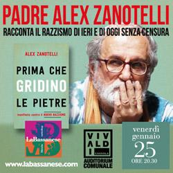 Padre Alex Zanotelli racconta il razzismo #senzacensura